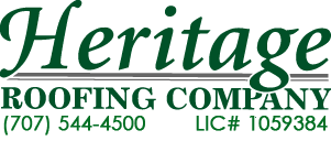 Heritage Roofing Phone: 707-544-4500 License 1059384